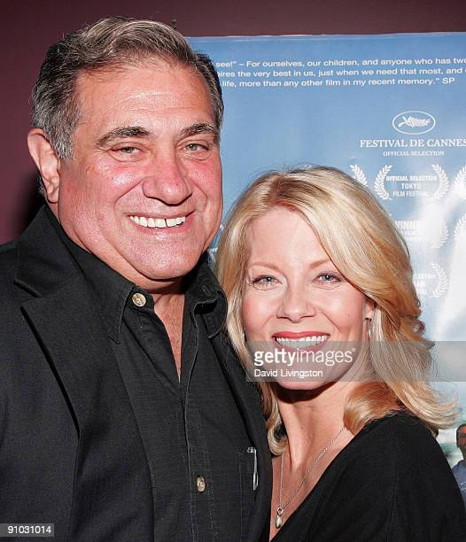 Actors Dan Lauria and Barbara Niven attend the Los Angeles premiere of The Third Wave A Volunteer Story at the Laemmle's Sunset 5 on September 22...