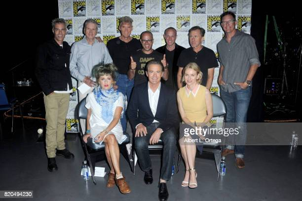 Actors Dana Ashbrook Don Murray Everett McGill moderator Damon Lindelof actors Tim Roth Matthew Lillard Kimmy Robertson Kyle MacLachlan and Naomi...