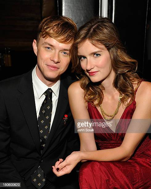 Actors Dane DeHaan and Anna Wood attend the after party for the LAWLESS premiere in Los Angeles hosted By DeLeon and Presented by The Weinstein...