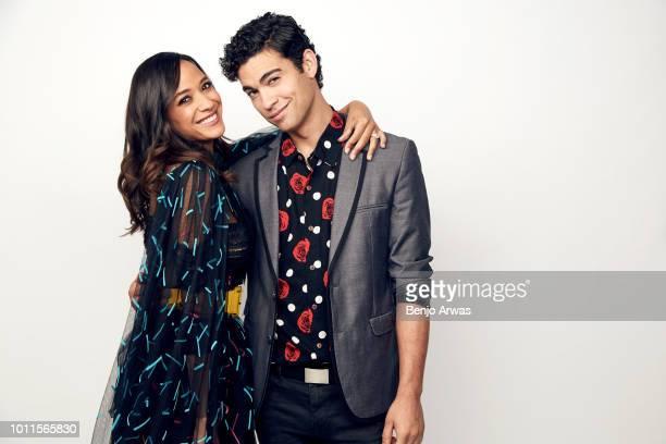 Actors Dania Ramirez and Davi Santos of CBS's 'Tell Me A Story' pose for a portrait during the 2018 Summer Television Critics Association Press Tour...