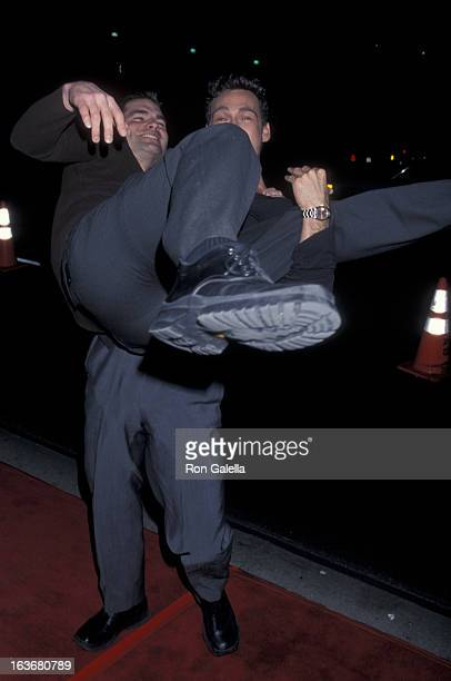 Actors Daniel Cosgrove and Grayson McCouch attend UPN AllStary Winter Press Tour on January 5 2001 at the Hearld Examiner Building in Los Angeles...
