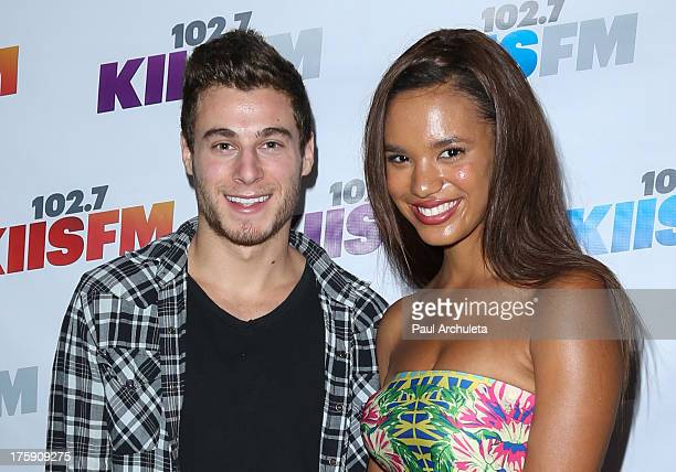 Actors Daniel Lipshutz and Taelyr Robinson attend the 1027 KIISFM's Teen Choice Awards preparty at the W Los Angeles Westwood on August 9 2013 in Los...