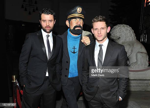 """Actors Daniel Mays and Jamie Bell arrive at """"The Adventures of Tintin: The Secret of The Unicorn"""" Closing Night Gala during AFI FEST 2011 Presented..."""
