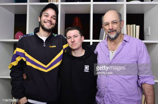 Actors Daniel Zovatto Richard Schiff and writer/director Jose Daniel 'Jaydee' Freixas pose for a portrait during the World Premiere of 'Vandal'...