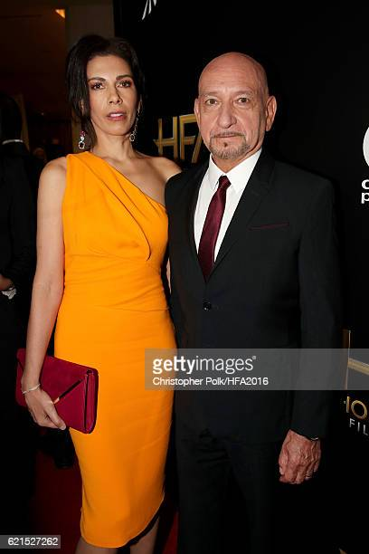 Actors Daniela Lavender and Sir Ben Kingsley attend the 20th Annual Hollywood Film Awards at The Beverly Hilton Hotel on November 6 2016 in Beverly...
