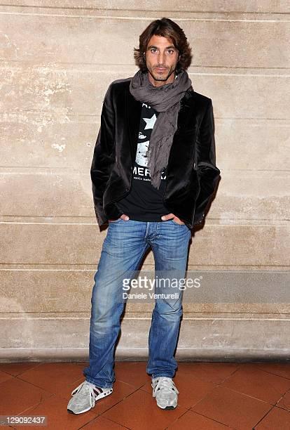 Actors Daniele Liotti attends the 2011 Premi Fice at the Teatro Bibiena on October 12 2011 in Mantova Italy