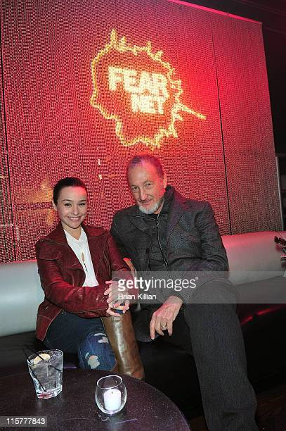 Actors Danielle Harris and Robert Englund attends the FEARnet Screening of Their Series 'Fear Clinic' at ARENA Event Space on October 29 2009 in New...