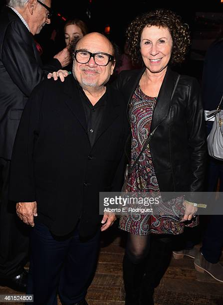 Actors Danny DeVito and Rhea Perlman attend the after party for the premiere of FXX's 'It's Always Sunny in Philadelphia' 10th Season and 'Man...