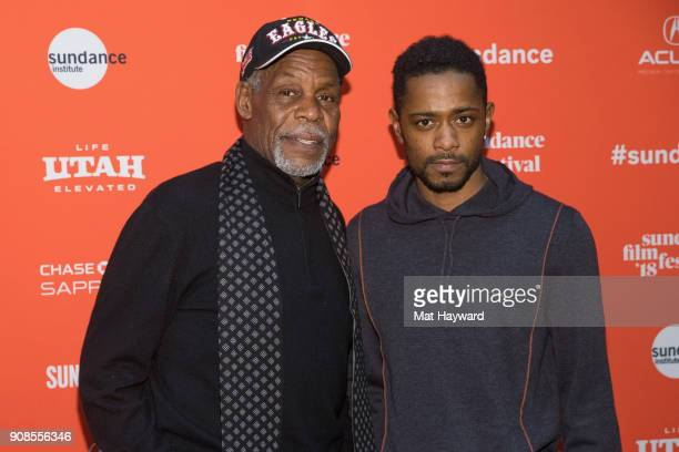 Actors Danny Glover and Lakeith Stanfield attend the 2018 Sundance Film Festival World Premiere of Netflix's Come Sunday at Eccles Center Theatre on...