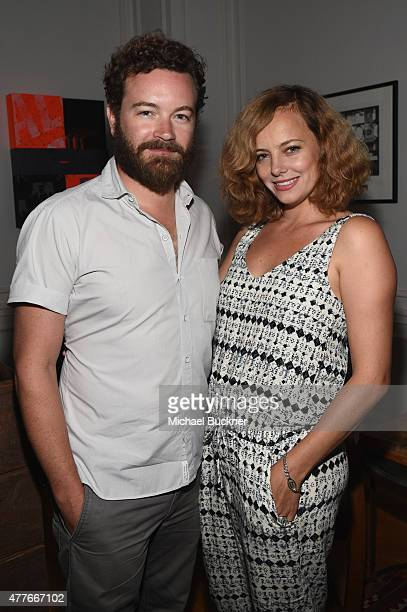 Actors Danny Masterson and Bijou Phillips attend an introduction to HEAVEN 2016 presented by The Art of Elysium and Samsung Galaxy on June 18 2015 in...
