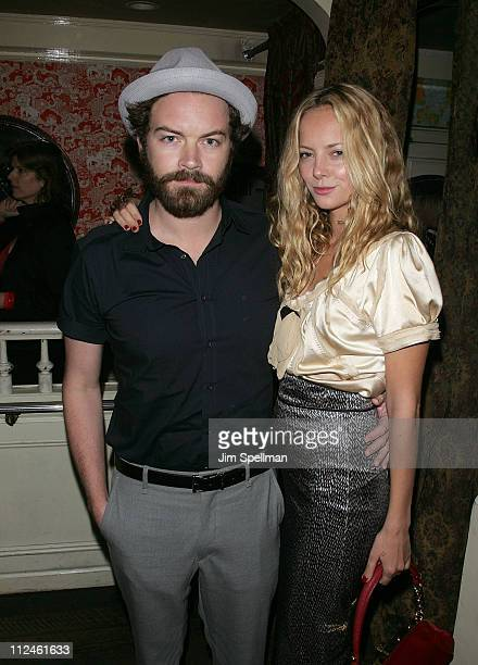 Actors Danny Masterson and Bijou Phillips attend the after party for Choke at the Sunshine Cinema on September 24 2008 in New York City