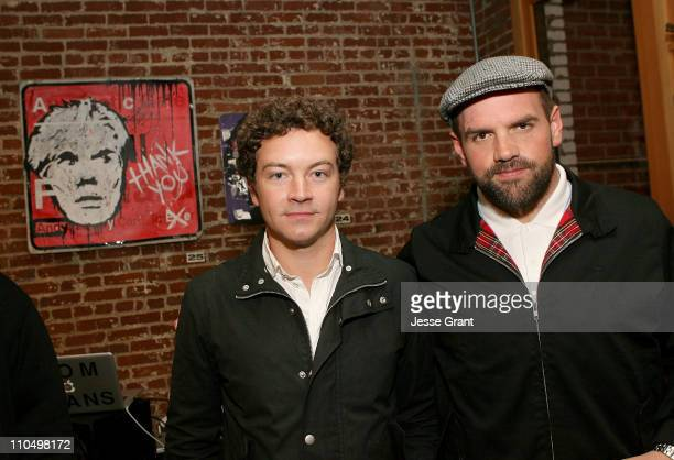 Actors Danny Masterson and Ethan Suplee attend the Community Service Art Opening sponsored by Klipsch held at Confederacy on March 20 2011 in Los...