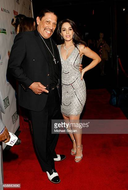 Actors Danny Trejo and Christina DeRosa attend Katherine Castro Receives Hollywood FAME Awards at Avalon on November 12, 2014 in Hollywood,...