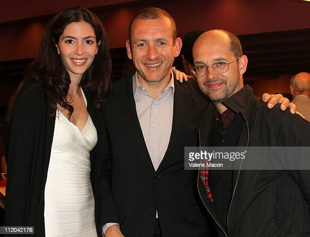 Actors Dany Boon wife Yael Harris and Maurice Barthelemy attend the 15th Annual City Of Lights City Of Angels Film Festival at Directors Guild Of...