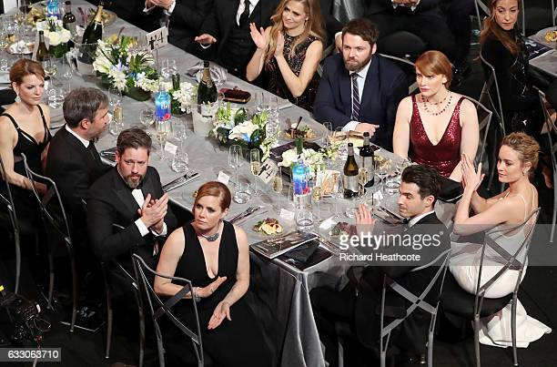 Actors Darren Le Gallo and Amy Adams Alex Greenwald actor Brie Larson Bryce Dallas Howard Seth Gabel and Teresa Palmer during The 23rd Annual Screen...
