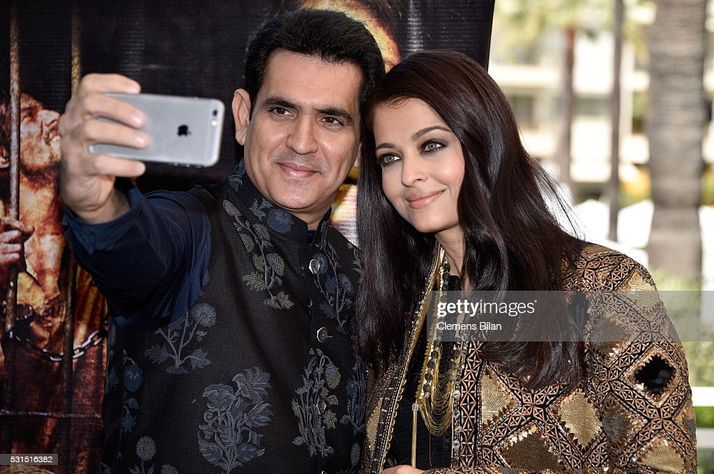 Actors Darshan Kumaar and Aishwarya Rai attend `Sarbjit` Photocall during The 69th Annual Cannes Film Festival at the Palais des Festivals on May 15..