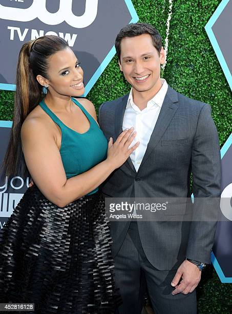 Actors Dascha Polanco and Matt McGorry attend the 2014 Young Hollywood Awards brought to you by Samsung Galaxy at The Wiltern on July 27 2014 in Los...