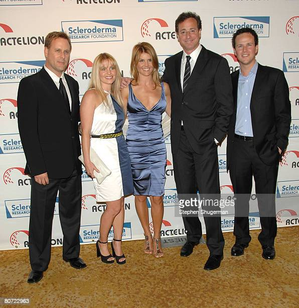 """Actors Dave Coulier, Candace Cameron Bure, Lori Loughlin, Bob Saget and Scott Weigner attend """"Cool Comedy - Hot Cuisine"""" Benefit Gala at the Four..."""