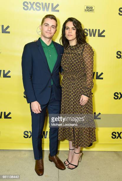 Actors Dave Franco and Abbi Jacobson attend the '6 Balloons' premiere during the 2018 SXSW Conference and Festivals at ZACH Theatre at ZACH Theatre...