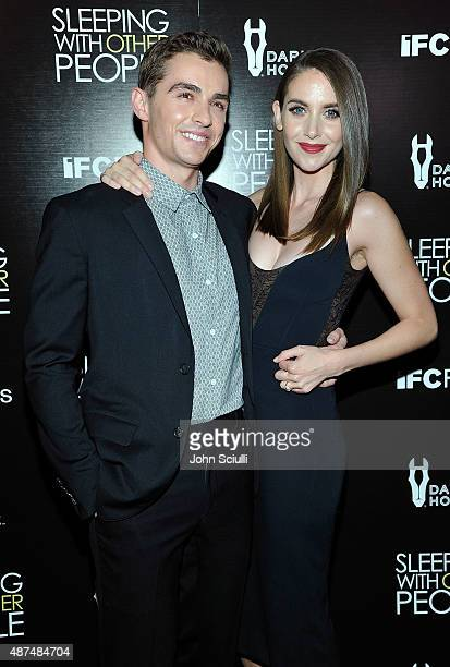 Actors Dave Franco and Alison Brie attend the Los Angeles premiere of IFC Films 'Sleeping with Other People' presented by Dark Horse Wine on...