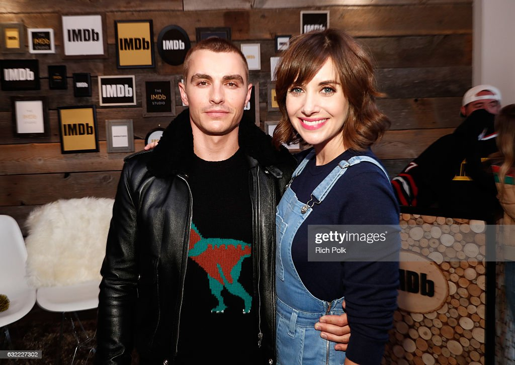 Actors Dave Franco and Alison Brie of 'The Little Hours' attend The IMDb Studio featuring the Filmmaker Discovery Lounge, presented by Amazon Video Direct: Day One during The 2017 Sundance Film Festival on January 20, 2017 in Park City, Utah.