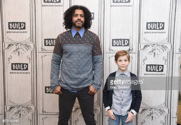 Actors Daveed Diggs and Jacob Tremblay visit Build Series to discuss the film Wonder at Build Studio on November 9 2017 in New York City