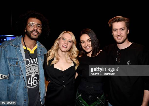 Actors Daveed Diggs Kate McKinnon Mila Kunis and Rafael Casal attend CinemaCon 2018 Lionsgate Invites You to An Exclusive Presentation Highlighting...