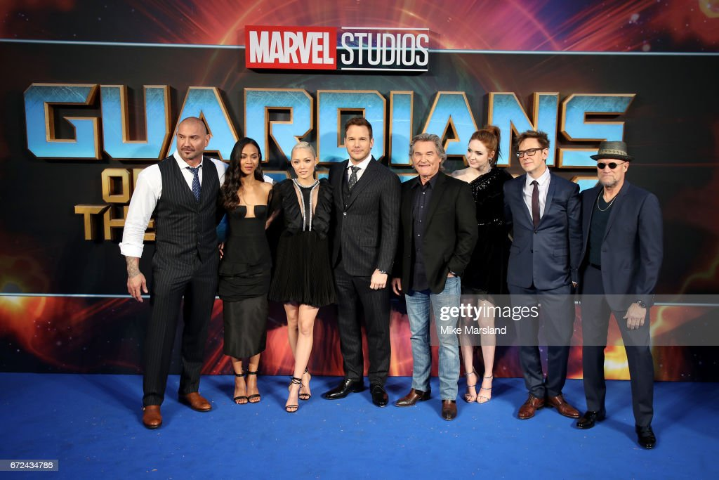 """""""Guardians of the Galaxy Vol. 2"""" - UK Special Screening - Arrivals : News Photo"""