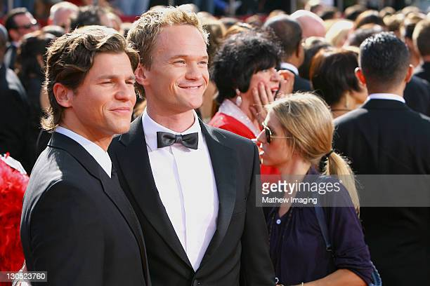 ACCESS*** Actors David Burtka and Neil Patrick Harris attend the 60th Primetime Emmy Awards held at the NOKIA Theatre on September 21 2008 in Los...
