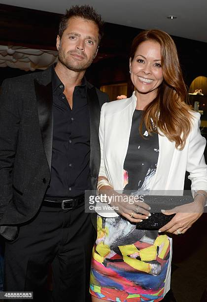 Actors David Charvet and Brooke BurkeCharvet attend Chrome Hearts Kate Hudson Host Garden Party To Celebrate Collaboration at Chrome Hearts on May 8...