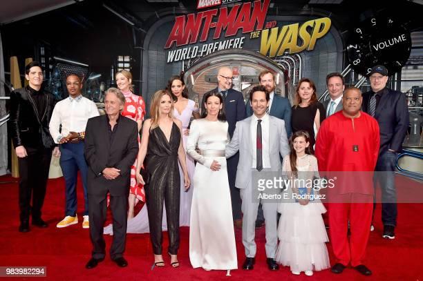 Actors David Dastmalchian Tip 'TI' Harris Michael Douglas Judy Greer Michelle Pfeiffer Hannah JohnKamen and Evangeline Lilly Director Peyton Reed...