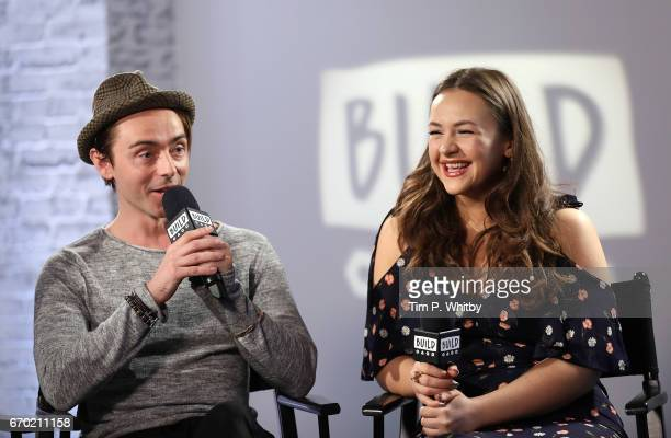 Actors David Dawson and Eliza Butterworth discuss their roles in BBC 2's The Last Kingdom at the Build LDN event on April 19 2017 at AOL Studios in...
