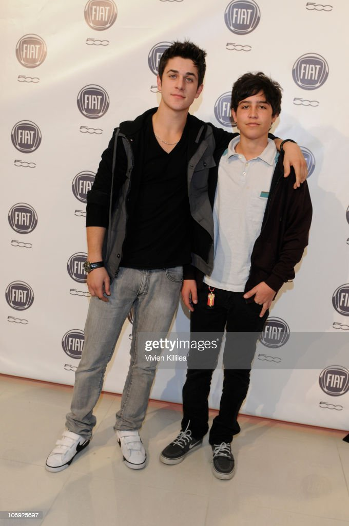 Actors David Henrie and Lorenzo Henrie attend An Evening With Chrysler on November 16, 2010 in Los Angeles, California.
