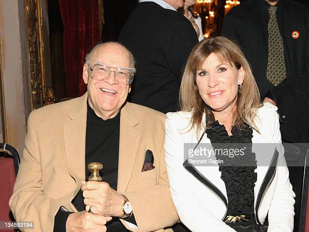 Actors David Huddleston and Judy Horton attend the 40th Anniversary Reunion Of ''The Waltons'' at Landmark Loew's Jersey City on December 2 2011 in...