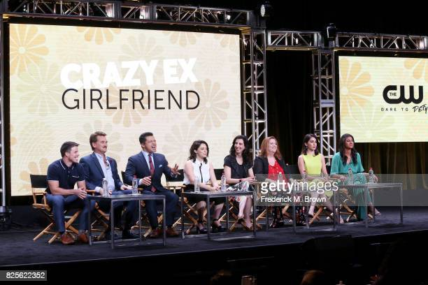 Actors David Hull Pete Gardner Vincent Rodriguez III actor/executive producer Rachel Bloom executive producer Aline Brosh McKenna and actors Donna...