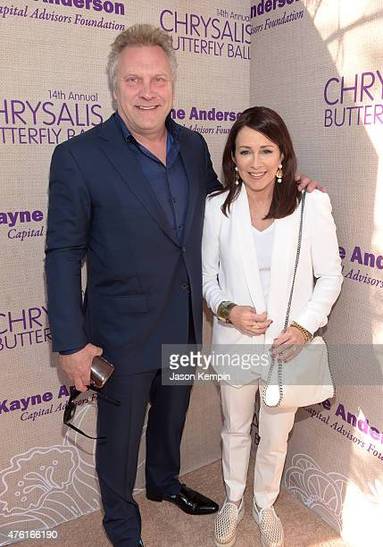 Actors David Hunt and Patricia Heaton attend the 14th annual Chrysalis Butterfly Ball sponsored by Audi Kayne Anderson Lauren B Beauty and Z Gallerie...
