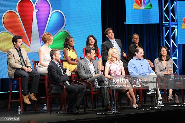 Actors David Krumholtz Leah Renee Naturi Naughton Jenna DewanTatum Wes Ramsey and Jenifer Lewis Executive Producer Chad Hodge actors Eddie Cibrian...