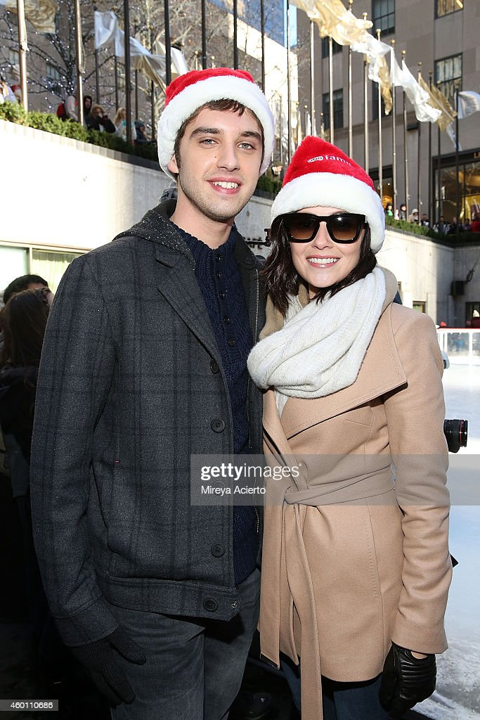 actors david lambert and italia ricci attend abcs 25 days of christmas celebration at - Abc 25 Days Of Christmas Schedule 2014