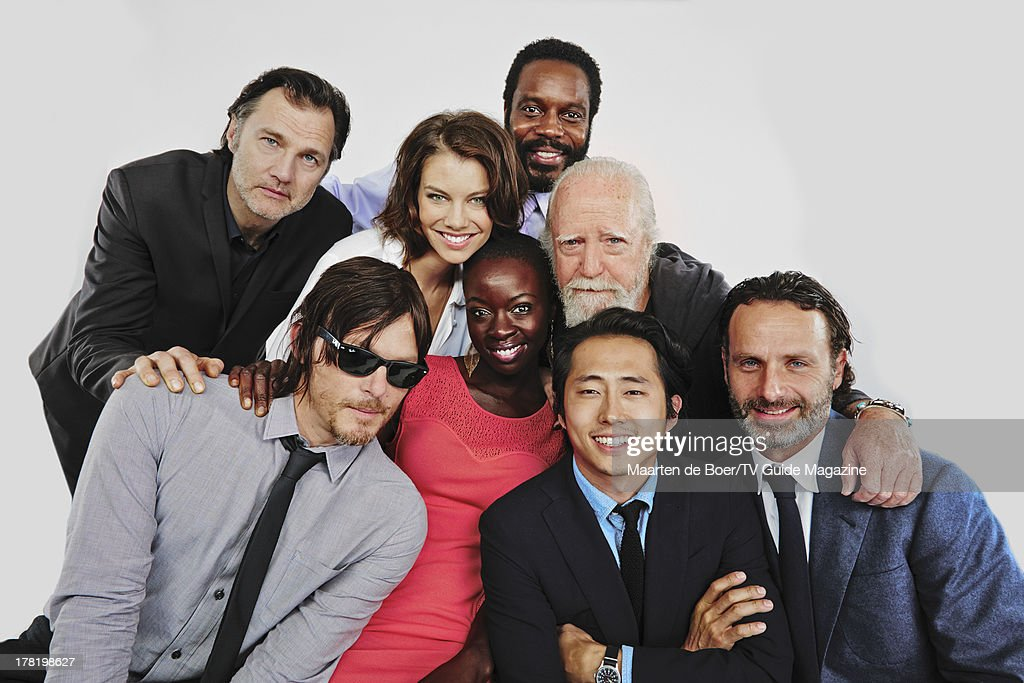 Cast of The Walking Dead, TV Guide Magazine, Comic Con 2013