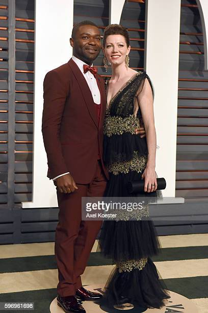 Actors David Oyelowo and Jessica Oyelowo attend the 2015 Vanity Fair Oscar Party hosted by Graydon Carter at the Wallis Annenberg Center for the...