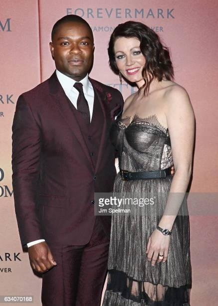 Actors David Oyelowo and Jessica Oyelowo attend the 'A United Kingdom' world premiere at The Paris Theatre on February 6 2017 in New York City