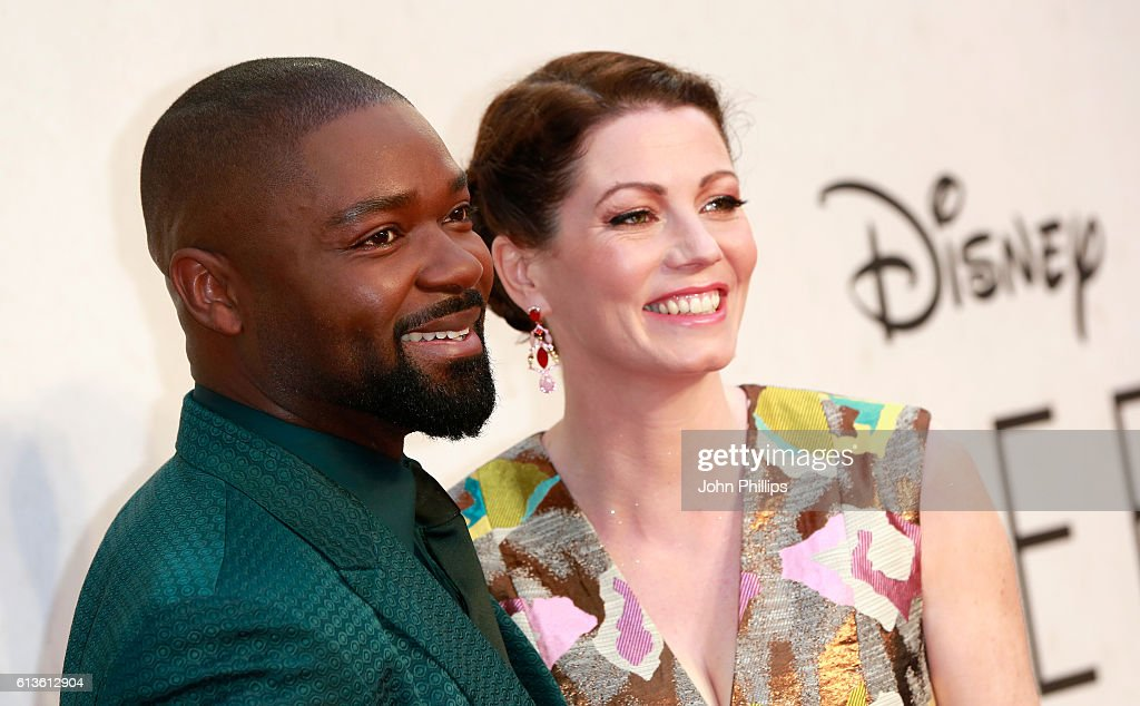 Actors David Oyelowo and Jessica Oyelowo attend the 'Queen Of Katwe' Virgin Atlantic Gala screening during the 60th BFI London Film Festival at Odeon Leicester Square on October 9, 2016 in London, England.
