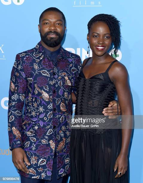 Actors David Oyelowo and Lupita Nyong'o attend the World Premiere of 'Gringo' at Regal LA Live Stadium 14 on March 6 2018 in Los Angeles California
