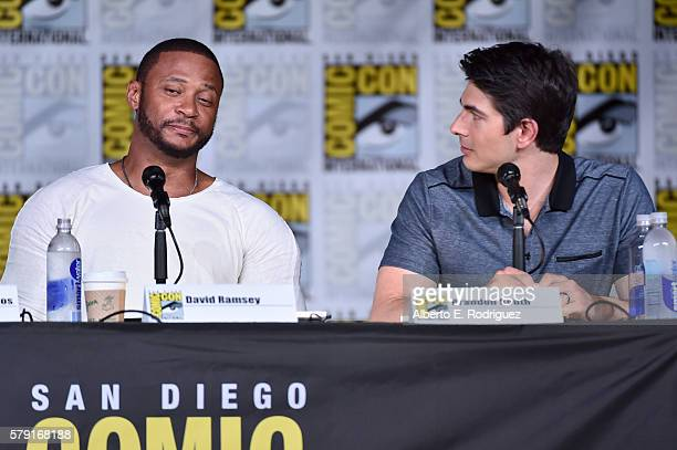 Actors David Ramsey and Brandon Routh attend TV Guide Magazine's Fan Favorites during Comic Con 2016 at San Diego Convention Center on July 22 2016...