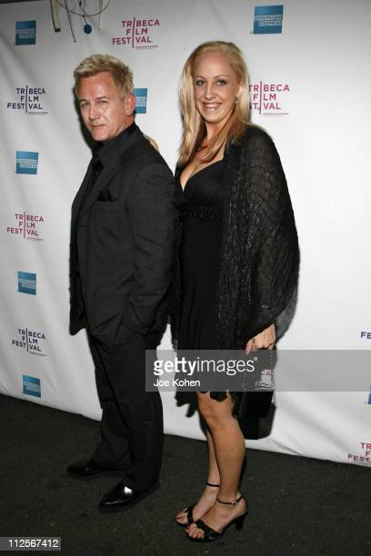 Actors David Sherrill and Paige Miller attend the premiere of 'The 27 Club' during the 7th Annual Tribeca Film Festival on April 26 2008 in New York...
