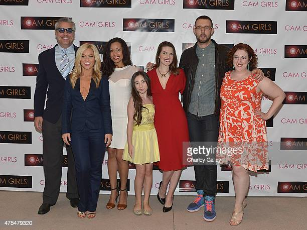 Actors David Starzyk Sarah Schreiber Annie Ruby Ava Cantrell executive producer and actress Kate Bond and actors Charlie Hewson and Rebecca Metz...