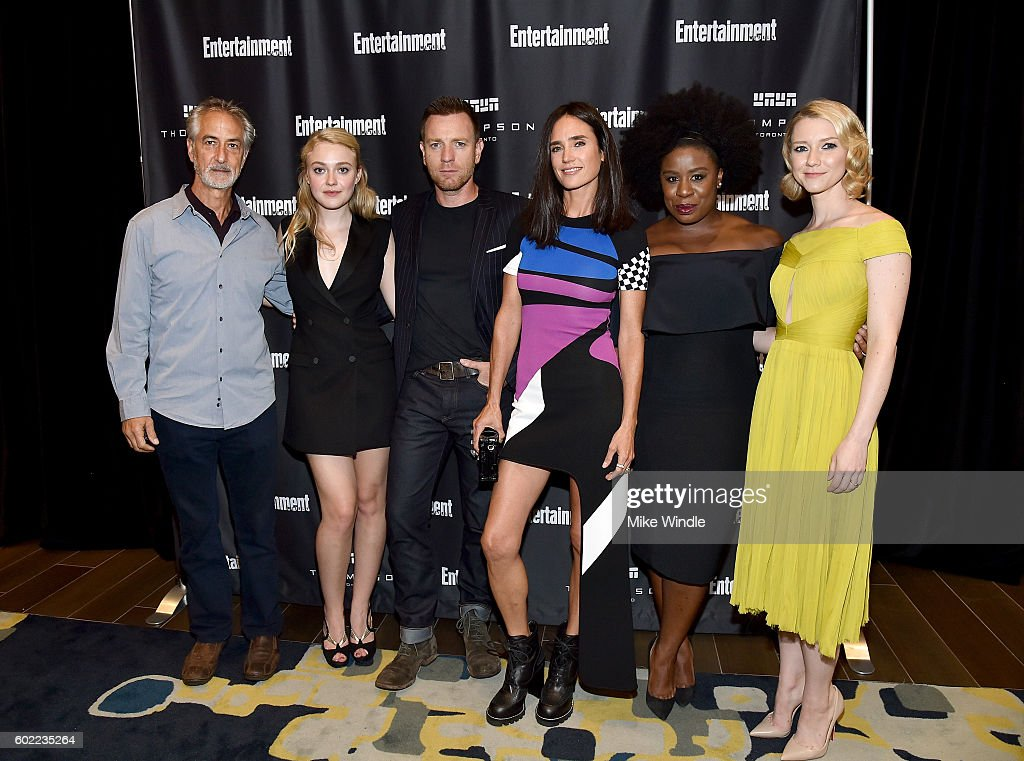 Actors David Strathairn, Dakota Fanning, Director/actor Ewan McGregor, actresses Jennifer Connelly, Uzo Aduba and Valorie Curry attend Entertainment Weekly's Toronto Must List party at the Thompson Hotel on September 10, 2016 in Toronto, Canada.
