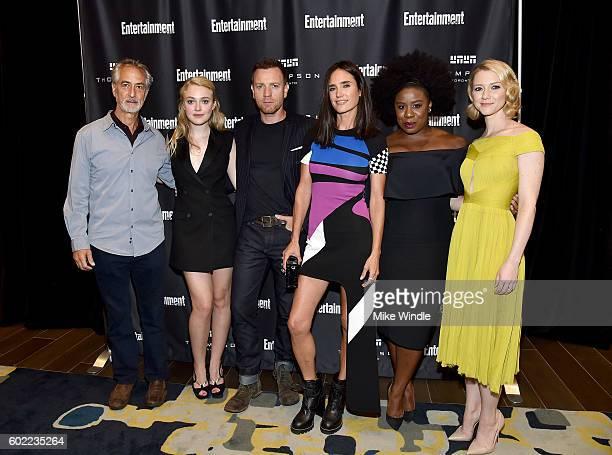 Actors David Strathairn Dakota Fanning Director/actor Ewan McGregor actresses Jennifer Connelly Uzo Aduba and Valorie Curry attend Entertainment...