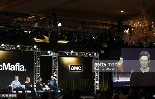 Actors David Strathairn Juliet Rylance cocreator/executive producer/writer Hossein Amini cocreator/executive producer/director James Watkins and...