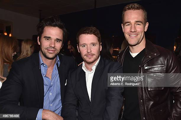 """Actors David Walton, Kevin Connolly and James Van Der Beek attend the after party for the Los Angeles premiere of Mister Lister Films' """"Consumed"""" at..."""